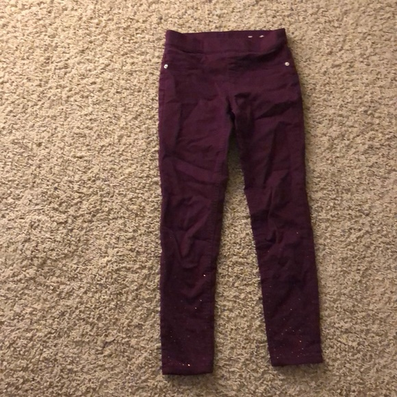 Justice Other - Mid rise Jean leggings